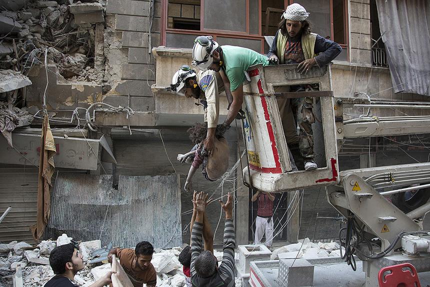 voluntarios Siria