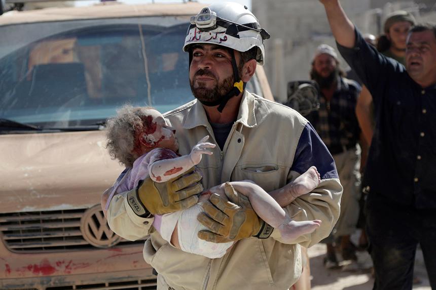 rescate niño sirio