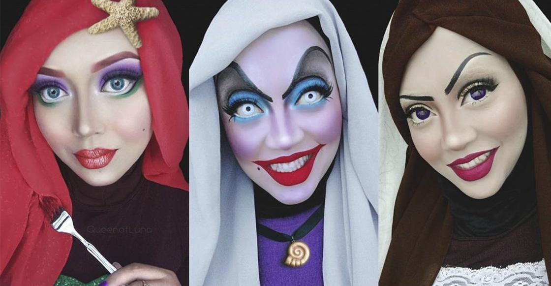 Esta chica de Malasia usa hijabs para hacer cosplays ¡Y le quedan increíbles! 😮