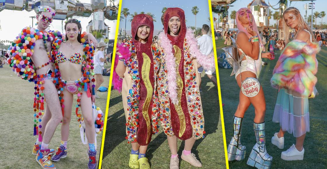 22 fotos de los outfits más Coachella de Coachella 2018 😬