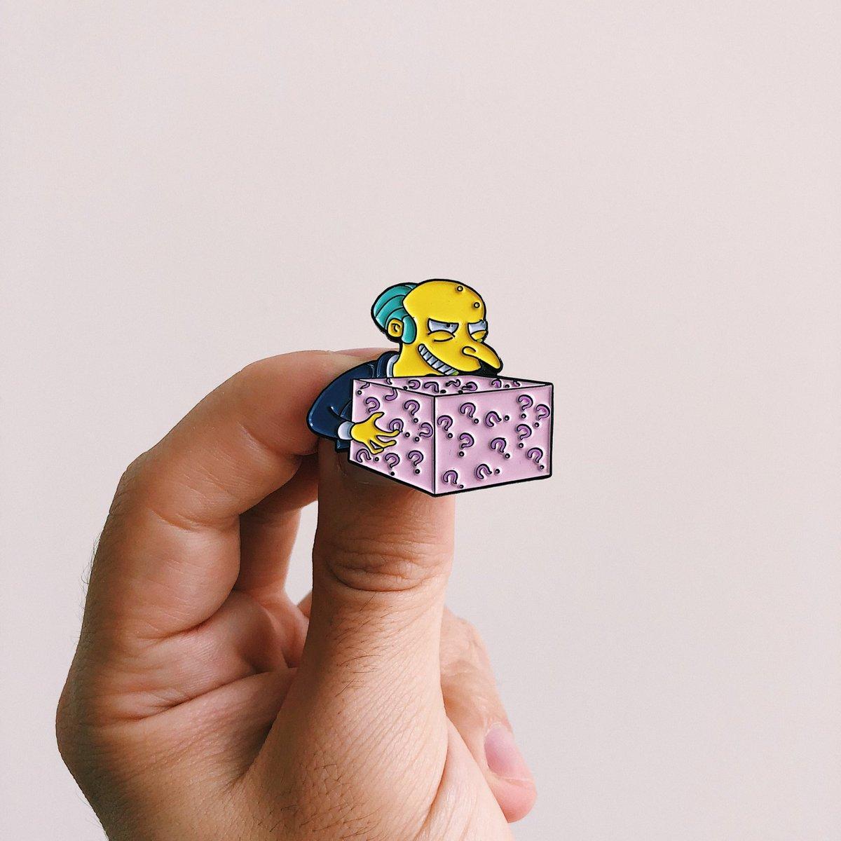 ¡Nergasmo! Conoce la colección de pines de Los Simpsons más genial del mundo