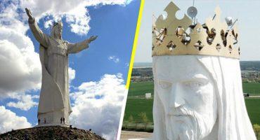 Oh, Lord! Esta estatua de Cristo en Polonia transmite señales de internet