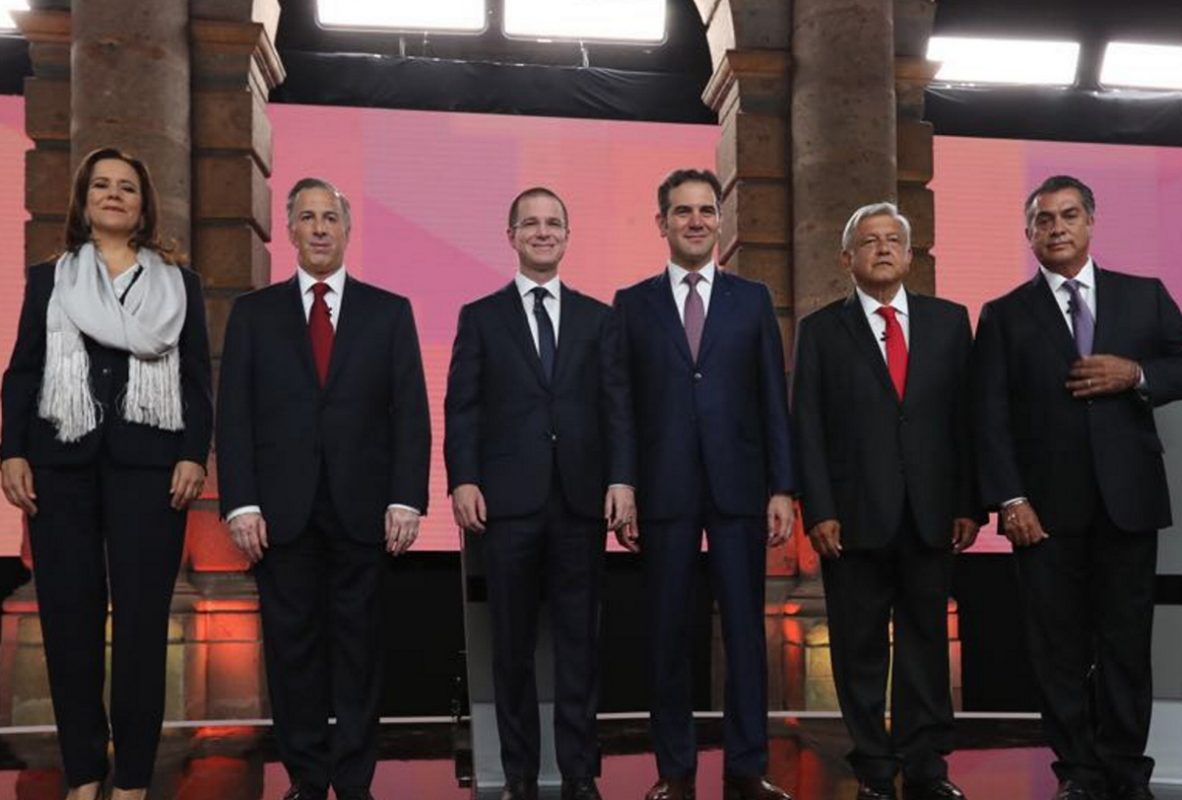 Debate presidencial INE 2018