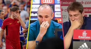 Las 5 despedidas más emotivas del futbol 😢