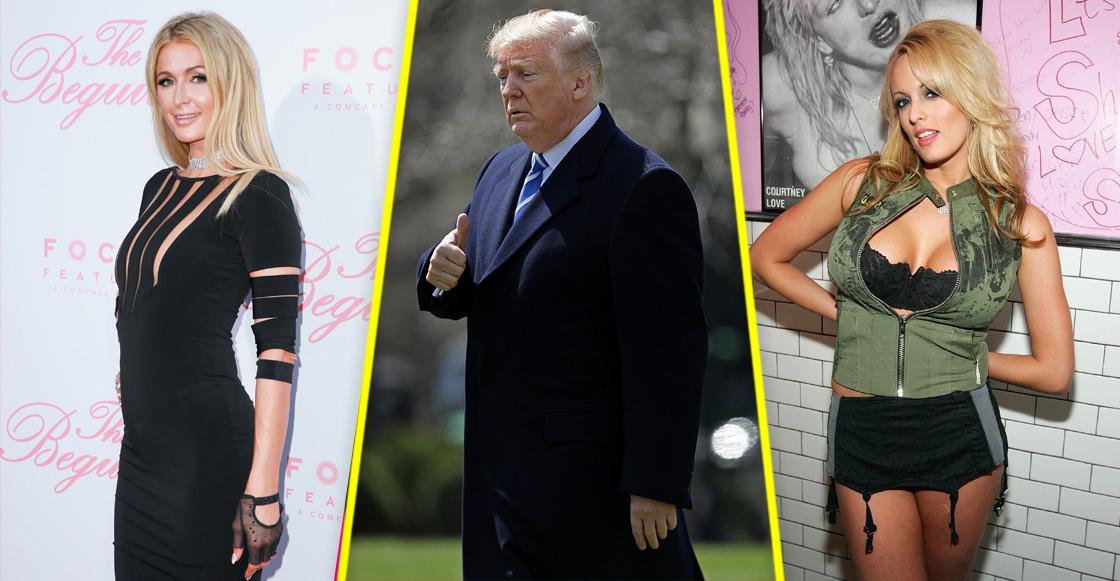 ¿Paris Hilton es la clave de la infidelidad de Donald Trump con Stormy Daniels?