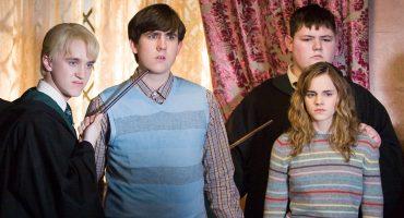 Bromance? Tal vez Draco no odiaba tanto a Hermione y Neville y esta foto lo comprueba