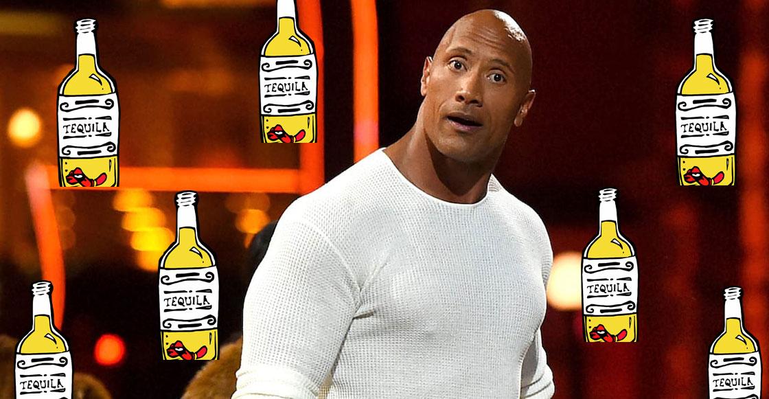 Try it on the rocks! Dwayne Johnson lanza su propia marca de tequila