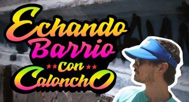 #EchandoBarrio: Caloncho nos llevó a su lugar de ensayos en Guadalajara