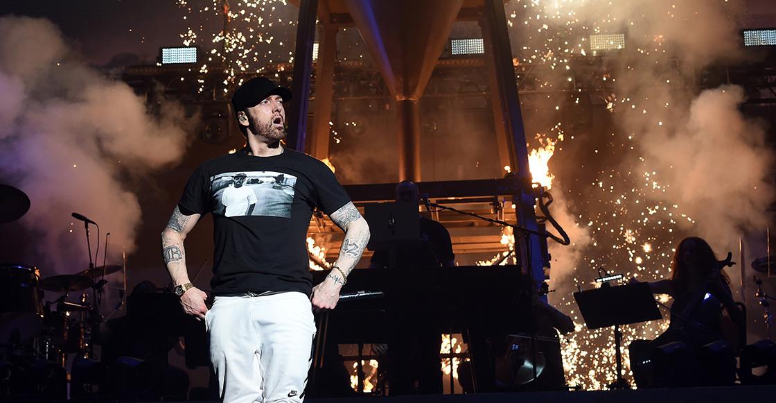 Slim gang! Eminem invitó a Dr. Dre y 50 Cent al escenario en Coachella 2018