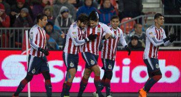¡Joyita de Pulido! Chivas venció a Toronto en la Ida de la Final de Concachampions