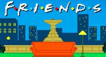 ¡Nerdgasmo! Alguien hizo el opening de 'Friends' en 8-bits 💙