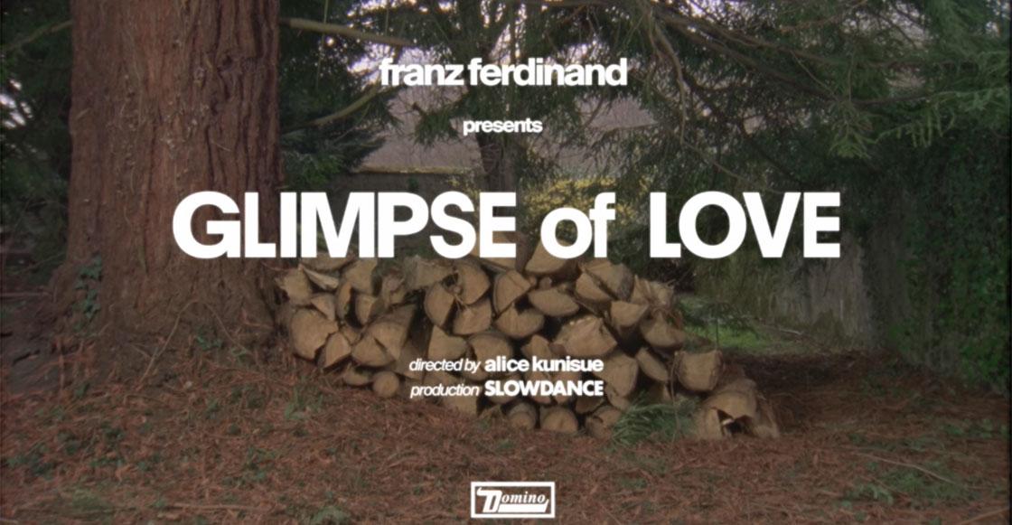 "¡Ya falta menos! Franz Ferdinand estrena video para ""Glimpse of Love"""