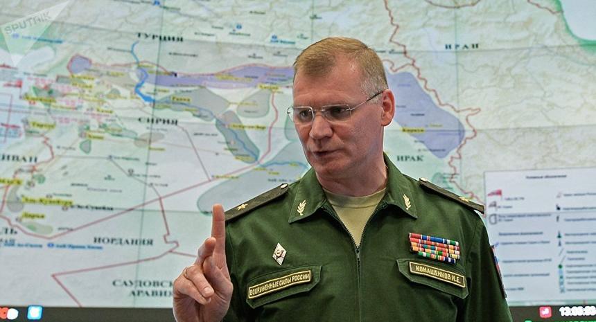 portavos ministerio de Defensa Ruso