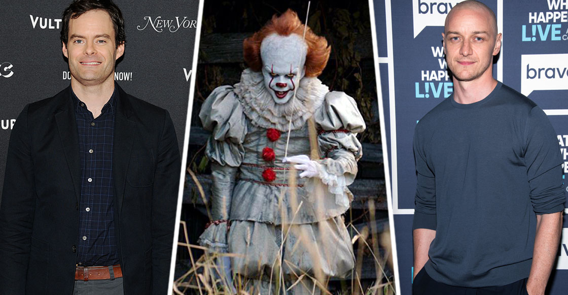 James McAvoy y Bill Hader podrían protagonizar la secuela de 'IT'