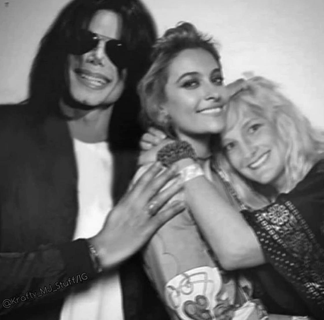 foto familiar Michael Jackson