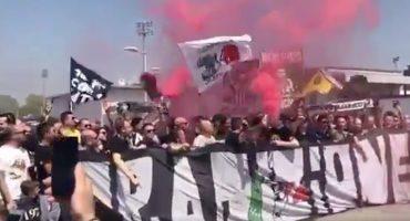 Ultras de la Juventus encaran a Buffon, Dybala y Marchisio