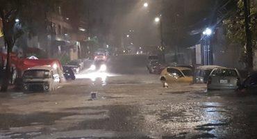 ¡Ahora sí hicieron sulfurar a Tlaloc y se está desquitando en Tlalpan y Xochimilco!
