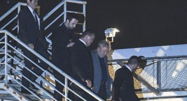 Lula da Silva, ex presidente de Brasil, se entrega a la policía