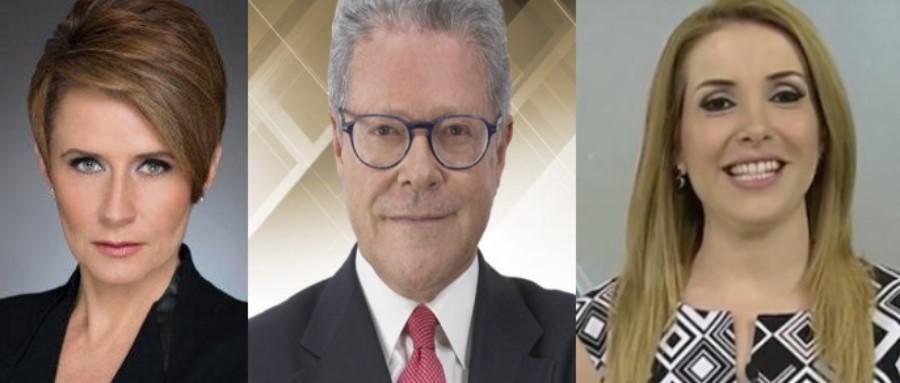 Denise Maerker, Sergio Sarmiento y Azucena Uresti, moderadores debate presidencial