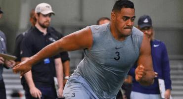Ex jugador de rugby, la sorpresa de Philadelphia en el cierre del Draft