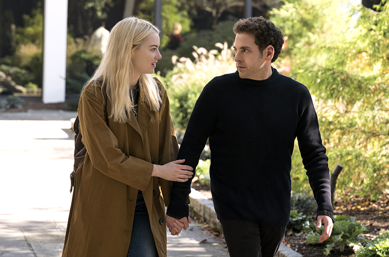 Por acá las primeras imágenes de 'Maniac' de Netflix con Emma Stone y Jonah Hill