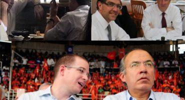Elecciones 2018, día 22: Meade con Ríos Piter y Cordero, Anaya con Calderón... puro coqueteo
