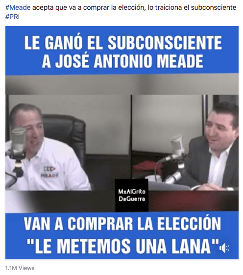 Video Falso meade
