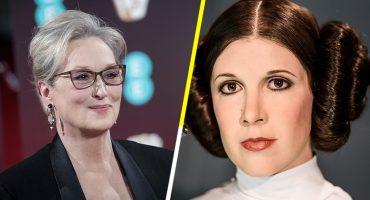Los fans de Star Wars ya lanzaron una petición para que Meryl Streep sea la nueva Princesa Leia