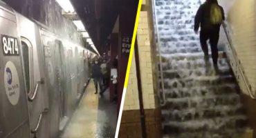¿Y te quejas de las inundaciones en la CDMX? Tienes que ver lo que pasó en el metro de Nueva York 😂