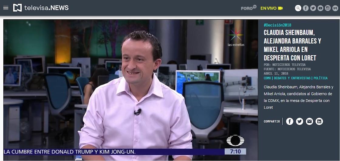 Mikel Arriola datos sobre turismo CDMX
