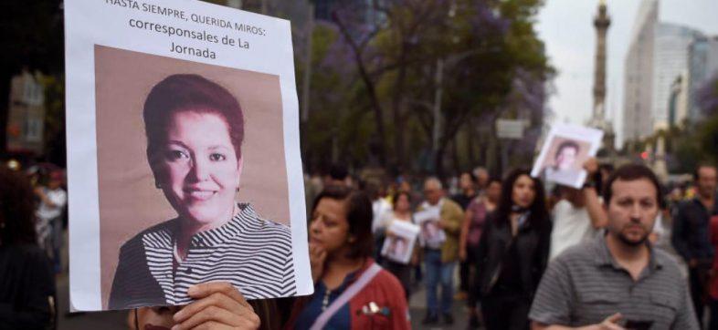 Marcha, justicia para Miroslava Breach