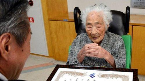 Falleció la mujer más longeva del mundo, Nabi Tajima, a los 117 años