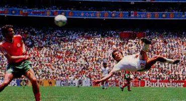 ¡Manuel Negrete está en la final! su gol compite por ser el mejor en la historia de los Mundiales