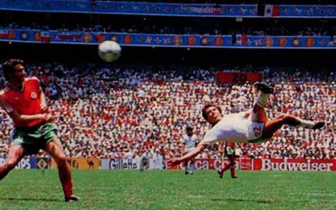 Manuel-Negrete-Gol-México-86-Bulgaria