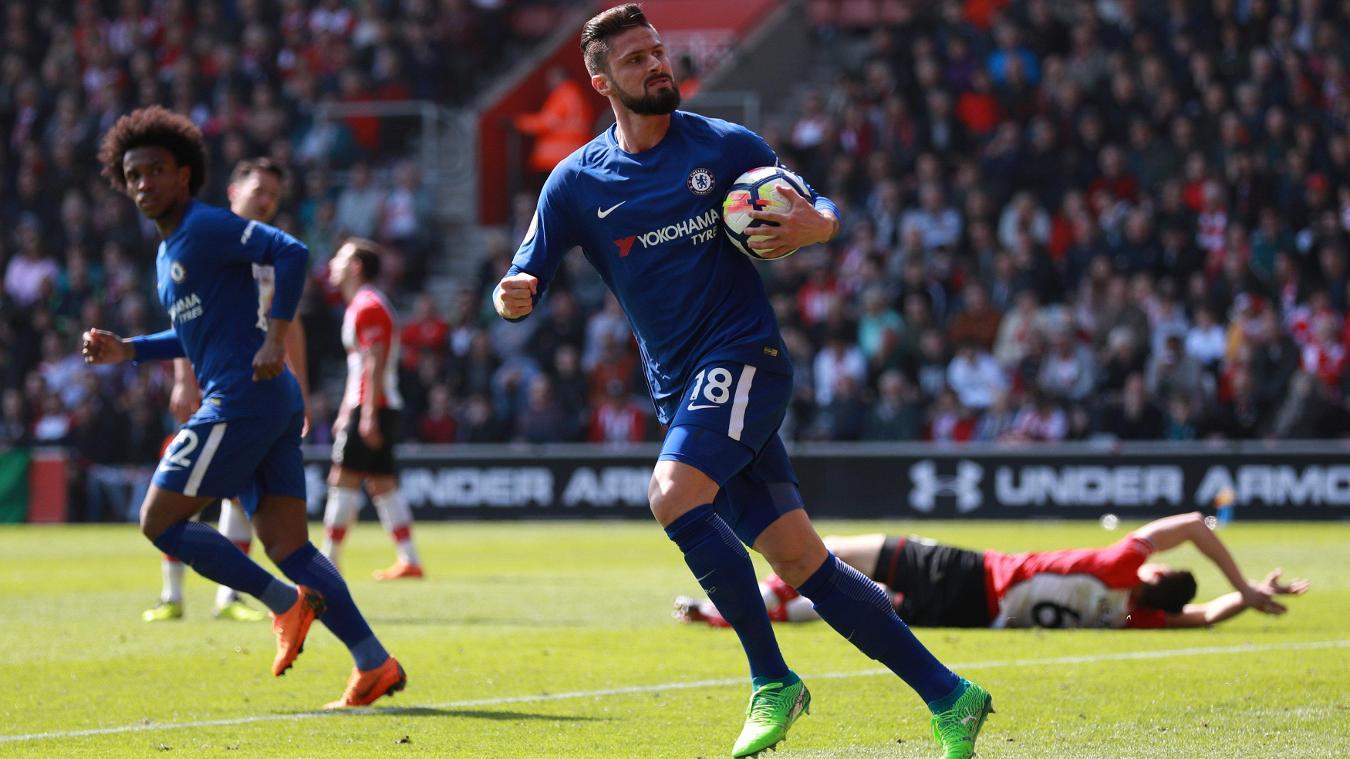 Olivier-Giroud-Chelsea-Southampton-Premier-League