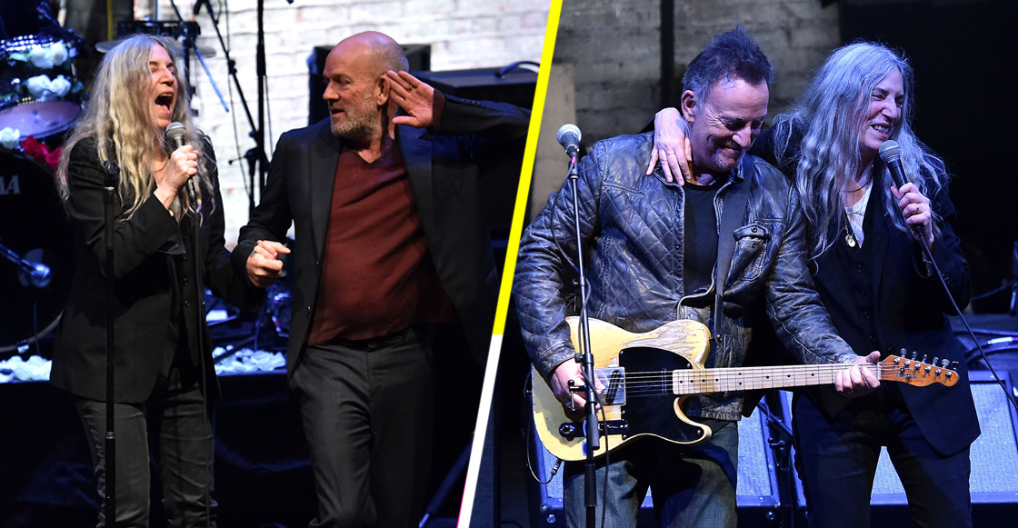 Patti Smith presenta documental y canta junto a Bruce Springsteen y Michael Stipe