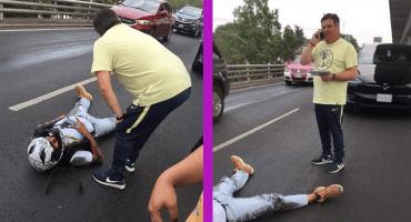 Piojo Herrera, involucrado en accidente automovilístico