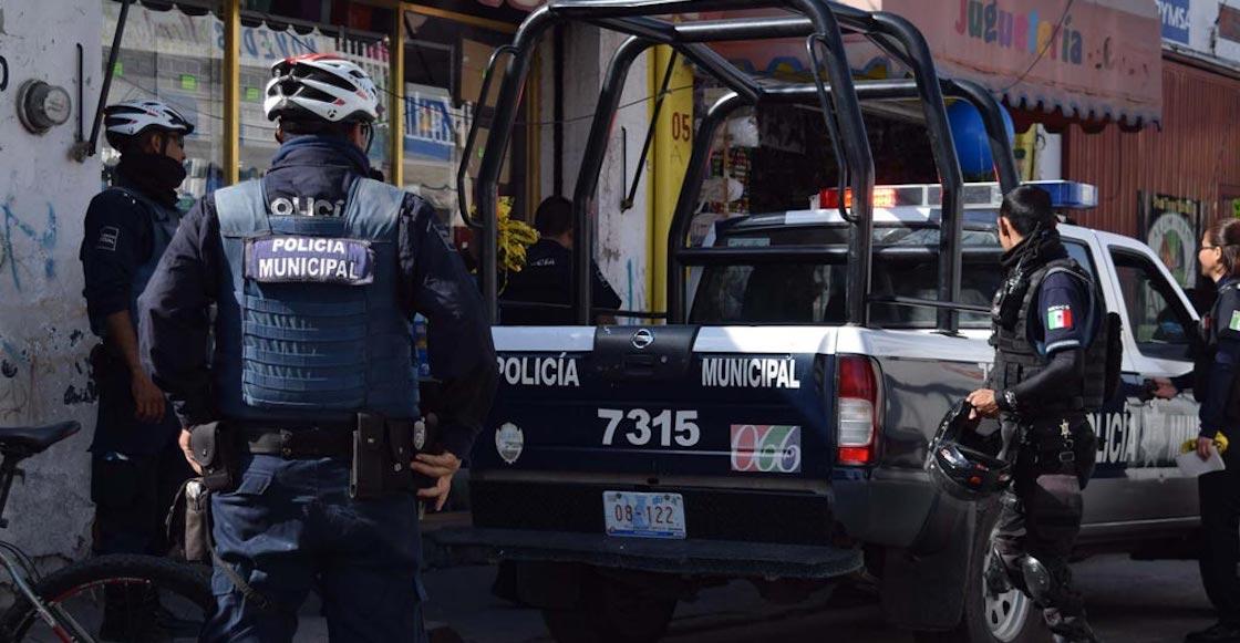 Policía de Guanajuato en Celaya