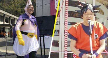 ¡Por Kamisama! ¡Políticos japoneses hicieron cosplay de Dragon Ball!