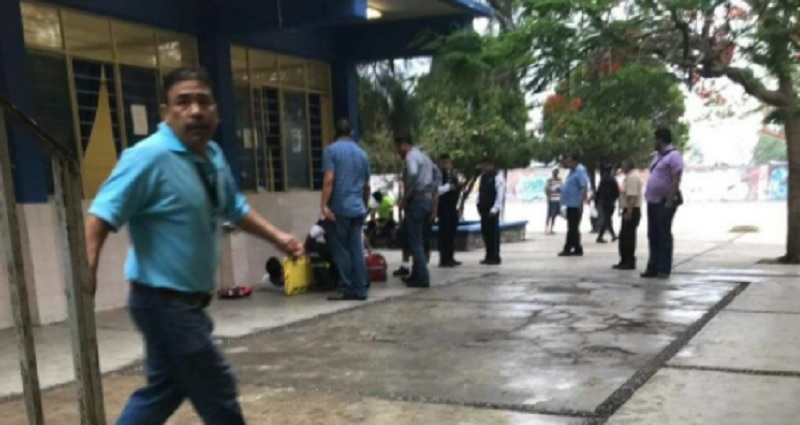 Balacera en preparatoria de Cd. Victoria, Tamaulipas