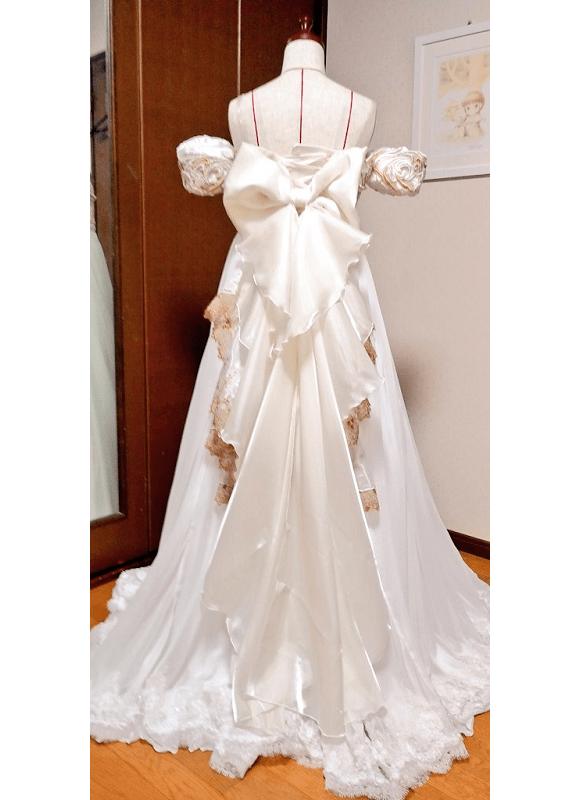 Fanática nivel: diseña su vestido de novia igual al de Sailor Moon