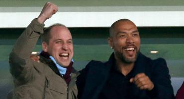 El príncipe William nombraría a su hijo como jugador del Aston Villa