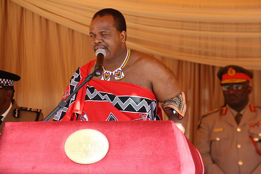 rey de suazilandia