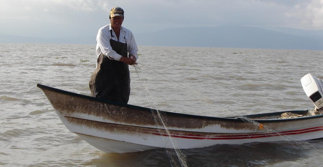 Pescador mexicano