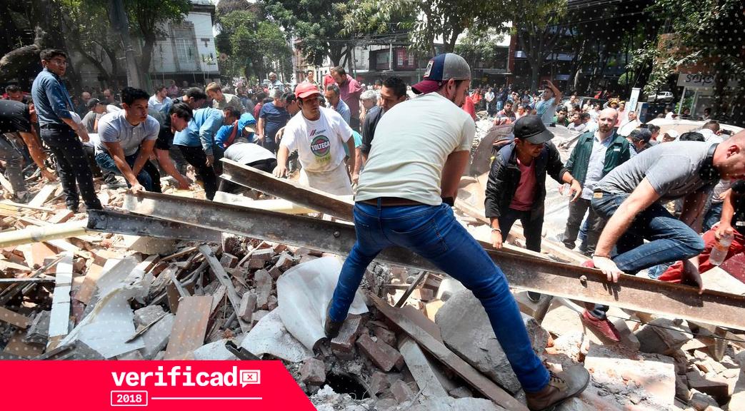 sismo 19 de septiembre falsa información