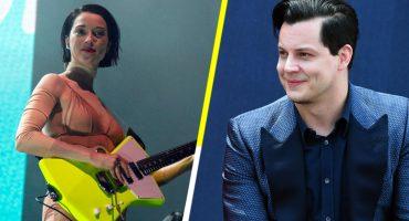 """""""F-YES!"""": La reacción de St. Vincent cuando Jack White usó su guitarra en SNL"""
