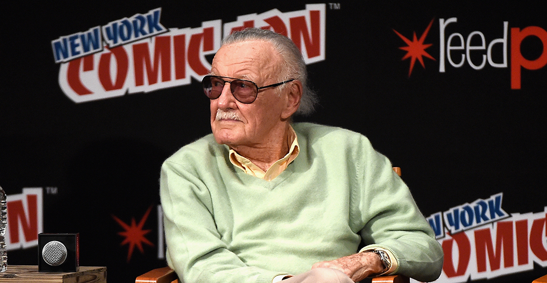 Excelwhat?! Una masajista demanda a Stan Lee por acoso sexual