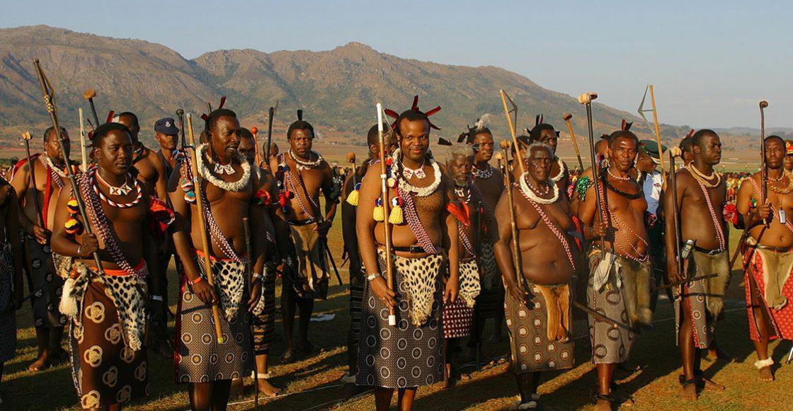 rey y tribu swazi