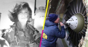 Heroína nivel: Aterrizó de emergencia un avión y salvó más de 140 vidas
