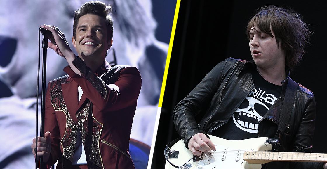 Mira a Craig Nicholls de The Vines cantar en el escenario con The Killers
